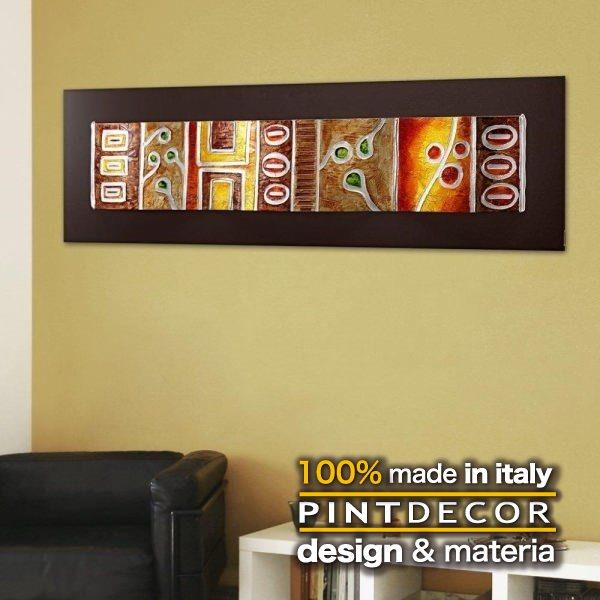 アートパネル|PINTDECOR SALISCENDI P2356 ピントデコール イタリア モダンアート リビング ダイナミック デコラティブ ミックステクスチャー 立体 ハンドメイド オブジェ ホテルライク エスニック 絵画 新居