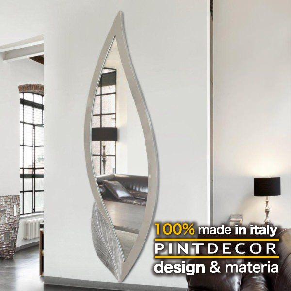 ウォールミラー|PINTDECOR PETALO P4254 ピントデコール イタリア モダンアート リビング ダイナミック デコラティブ ミックステクスチャー 立体 ハンドメイド オブジェ ホテルライク 壁掛けミラー 鏡 新居 モダン アート