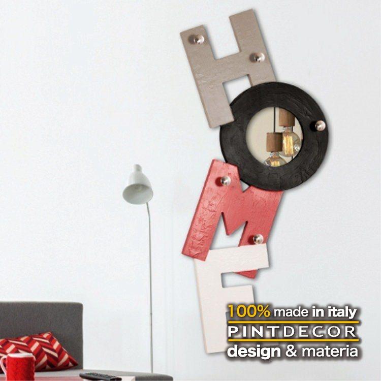 ハンガーラック|PINTDECOR HOME ROSSO P4816 ピントデコール イタリア モダンアート リビング ダイナミック デコラティブ ミックステクスチャー 立体 ハンドメイド オブジェ ホテルライク 新居