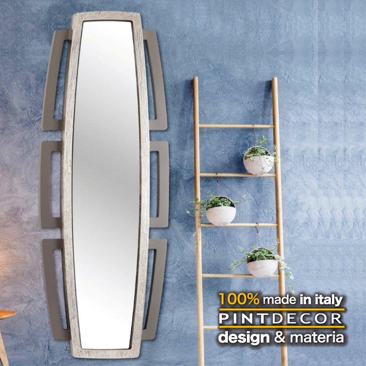 ルームミラー|PINTDECOR SIBILLA P4872 ピントデコール イタリア モダンアート リビング ダイナミック デコラティブ ミックステクスチャー 立体 ハンドメイド オブジェ ホテルライク 新居