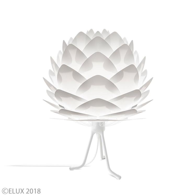 テーブルライト Silvia mini Tripod|UMAGE ウメイ シルヴィア ミニ 照明 北欧 デンマーク ブランド デスクライト 卓上照明 デザイナーズ リビング ダイニング 寝室 おしゃれ モダン デザイン インテリア [※旧VITA]