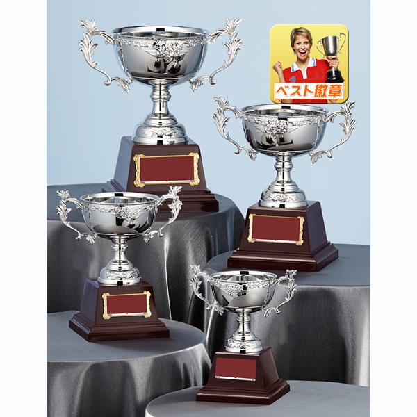 優勝カップ【文字彫刻無料】銀(シルバー)の金属製カップW-FA146-Cサイズ●高さ165mm