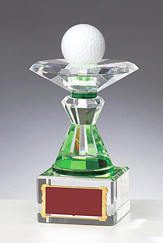 独特な ホールインワン 記念品 トロフィー 送料無料&文字無料 ゴルフ クリスタルトロフィー トロフィー (ゴルフ W-HA733 (ゴルフ ゴルフ 高さ145mm, オフィス家具-J-:1dba03cf --- blablagames.net