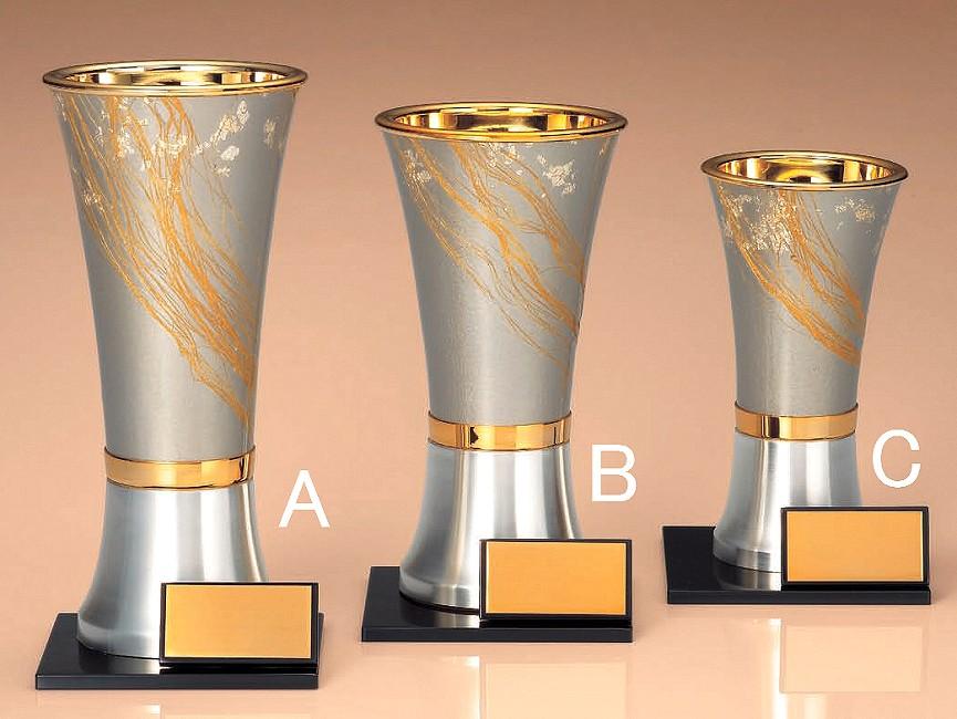 優勝カップ【送料無料&文字無料】和風デザインカップ(杯) Cサイズ●高さ165mm