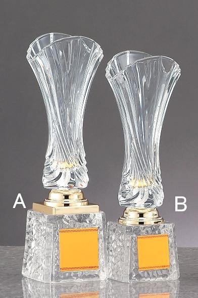 優勝カップ【送料無料&文字無料】ガラス優勝カップ(ガラス) GC304-B●高さ300mm