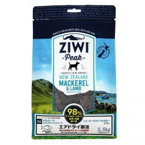 Daily-DogZiwiPeak エアドライ・ドッグフード マッカロー&ラム 2.5kg【デイリードッグ、ジウィピーク、総合栄養食、マッカローラム】