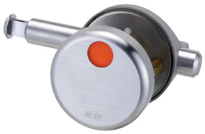 ベスト 610ND-H 打掛錠 折戸・引戸タイプ ドア厚31-40ミリ コイン 解錠付 CUD #610ND-H40-EC