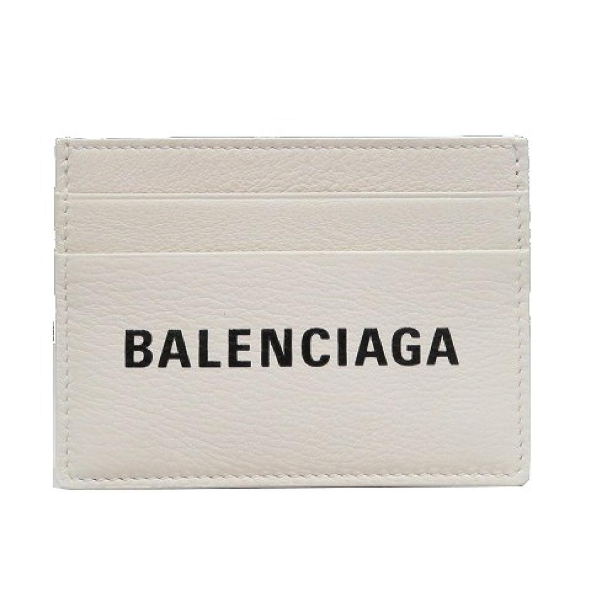 BALENCIAGA(バレンシアガ)/エブリディ カードケース/その他/ホワイト/レザー/【ランクA】(490620)【中古】