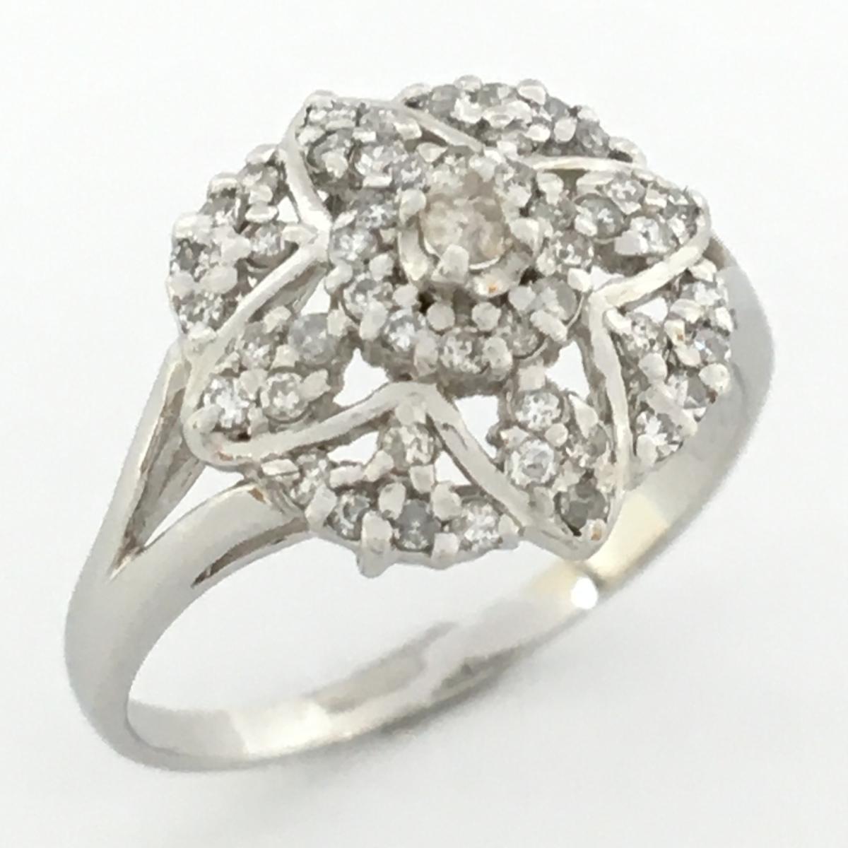JEWELRY(ジュエリー)/ダイヤモンドリング 指輪 レディース/リング//PT900(プラチナ)×ダイヤモンド 0.40ct/【ランクS】/11号【中古】