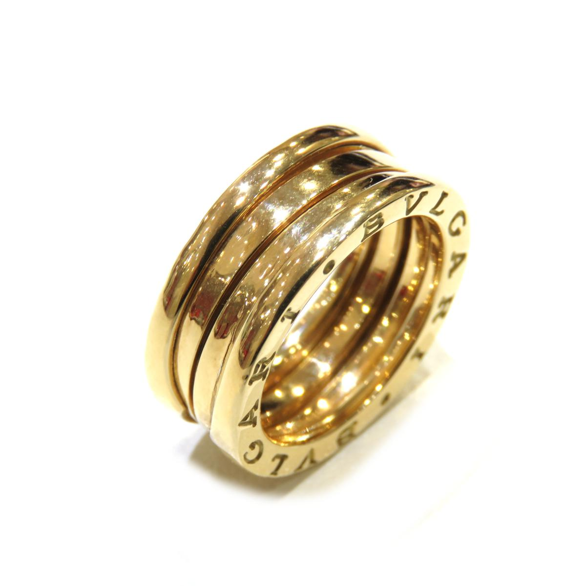 BVLGARI(ブルガリ)/B-zero1 リング Sサイズ 指輪 セール/リング//K18YG(750)イエローゴールド/【ランクA】/#53/12.5号【中古】