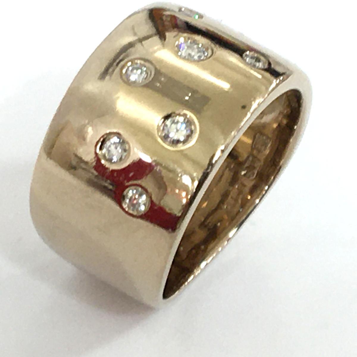 JEWELRY(ジュエリー)/ジュエリー ダイヤモンド リング 指輪/リング/ゴールド系/K18YG(750)イエローゴールド×ダイヤモンド(0.19ct)/【ランクA】/12号【中古】