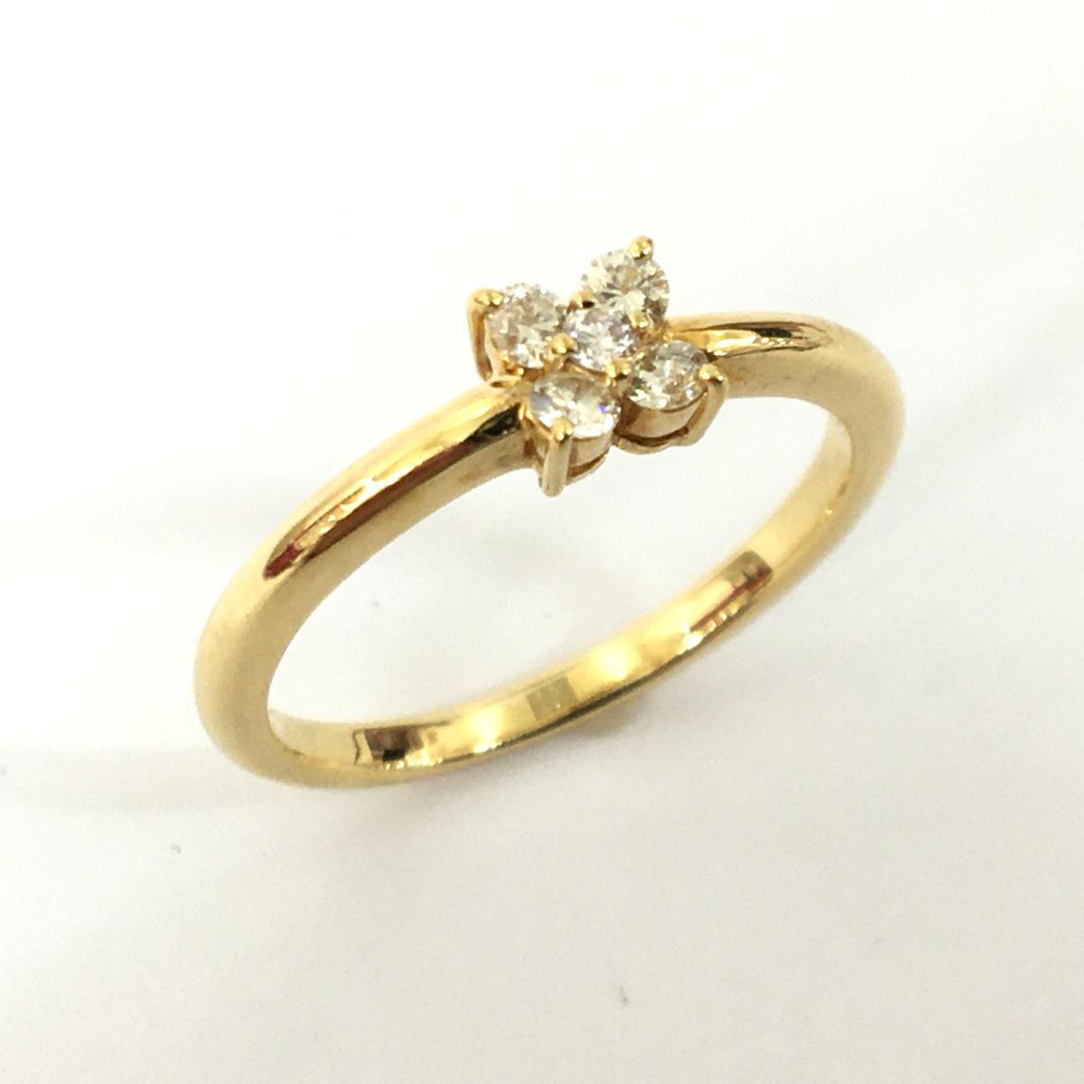 JEWELRY(ジュエリー)/ジュエリー ダイヤモンド リング 指輪 レディース/リング//K18YG(750)イエローゴールド×ダイヤモンド(0.15ct)/【ランクA】/8.5号【中古】