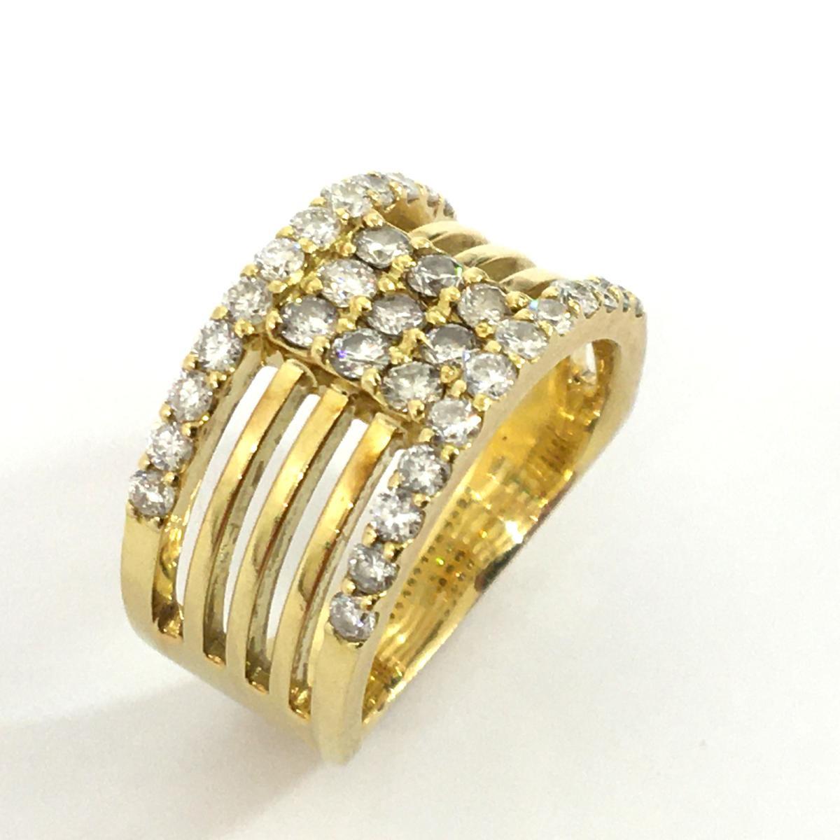 JEWELRY(ジュエリー)/ジュエリー ダイヤモンド リング 指輪/リング/ゴールド系/K18YG(750)イエローゴールド×ダイヤモンド(1.00ct)/【ランクA】/14号【中古】