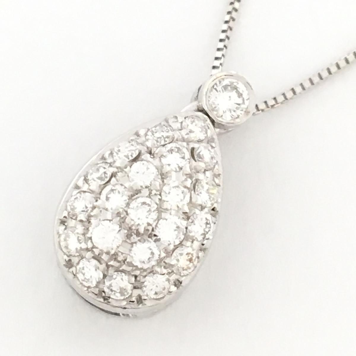 JEWELRY(ジュエリー)/ダイヤモンドネックレス /ネックレス//K18WG(750)ホワイトゴールド×ダイヤモンド/【ランクS】【中古】