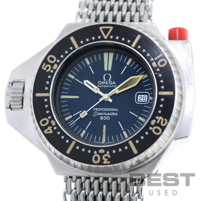 オメガ 【OMEGA】 シーマスター600 プロプロフ 166.077 メンズ ブルー ステンレススティール 腕時計 時計 SEAMASTER600 PRO-PLOF BLUE SS 166-077 ヴィンテージウォッチ【中古】