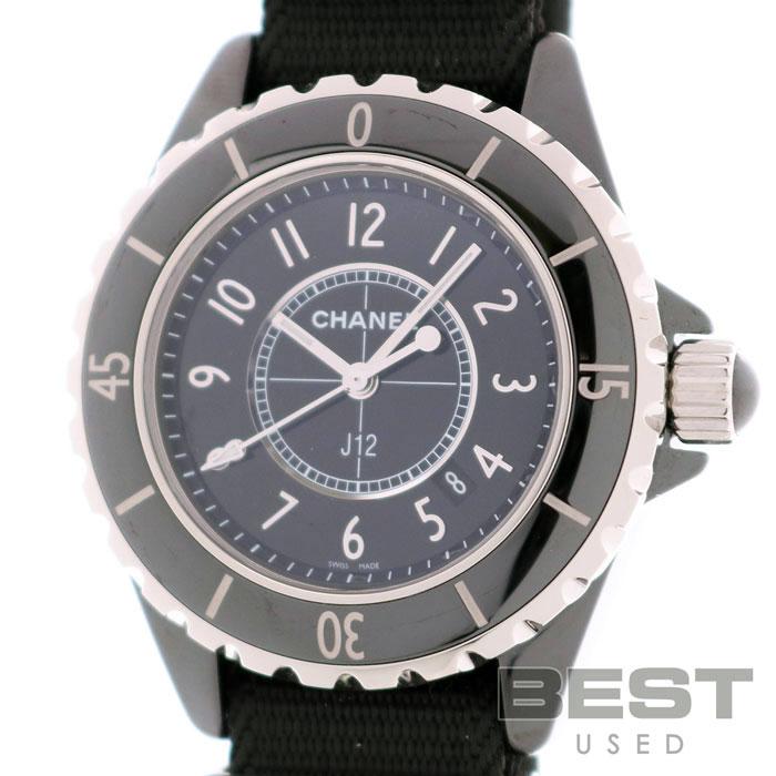 シャネル 【CHANEL】 J12 G.10 グロス H4657 J12-G.10 GLOSS レディース ブラック セラミック 腕時計 時計 J12 G.10 GLOSS BLACK CE ボーイズ【中古】