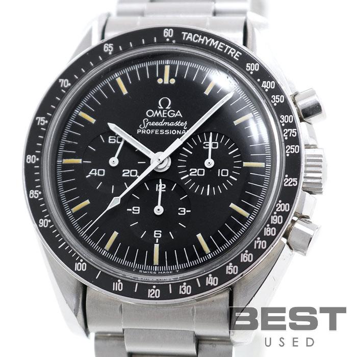 オメガ 【OMEGA】 スピードマスター プロフェッショナル ST145.022-69 メンズ ブラック ステンレススティール 腕時計 時計 SPEEDMASTER PROFESSIONAL BLACK SS SPプロ ヴィンテージウォッチ【中古】