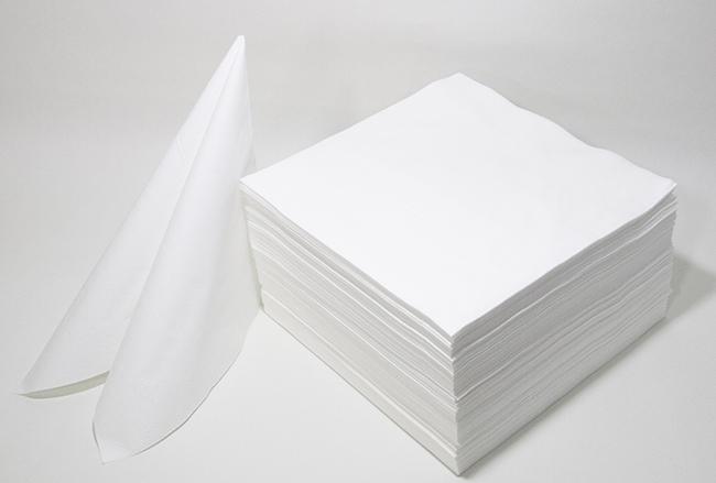 ペーパーナプキン 無地 舗 カラー 白 WEB限定価格 高品質ペーパーナプキン おしゃれ ホームパーティー 北欧 日本 ドイツ製 紙ナプキン 250枚入り ランチサイズ 33cmx33cm 3枚重ね 大量 業務用 好き