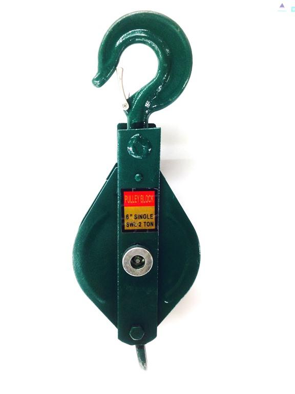 公式ストア 国際標準化機構ISO9001:2008認証工場で生産された国際基準CE規格製品格安特価 クレーンフック鉄滑車1t シングル式 ベケット付 一車スナッチ 人気 おすすめ