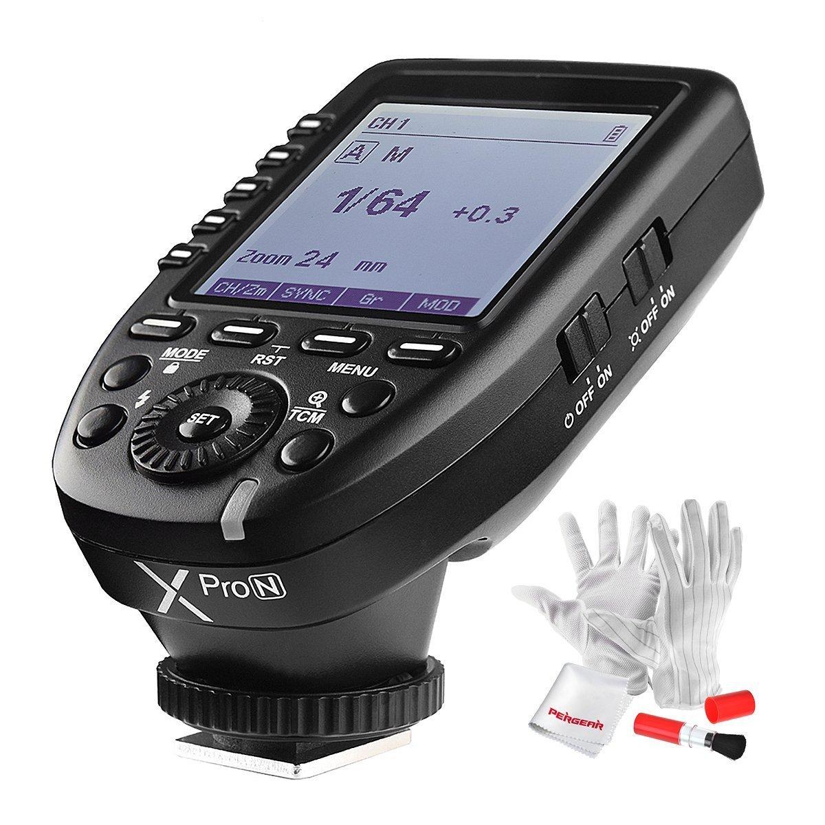【PDF日本語説明書&正規品】GODOX Xpro-N送信機 TTL2.4Gワイヤレスフラッシュトリガー 高速同期 1 / 8000s Xシステム Nikon一眼レフカメラ対応  技適マーク付き