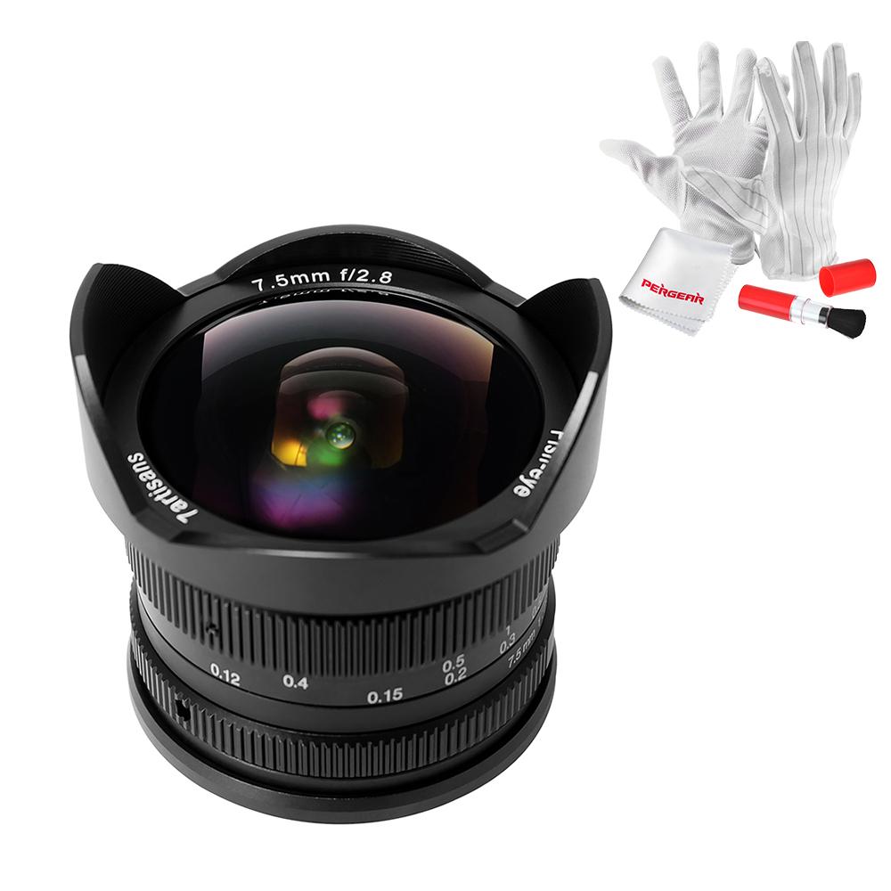 七工匠7artisans 7.5mm f2.8魚眼レンズ ソニーEマウント APS-Cサイズ対応