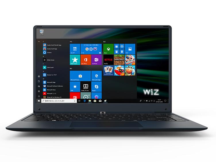 ◆Win10Home64Bit/14.1インチ/WiZ SIMフリー対応Note WindowsPC【WiZ(KEIAN)】KIC14LTE