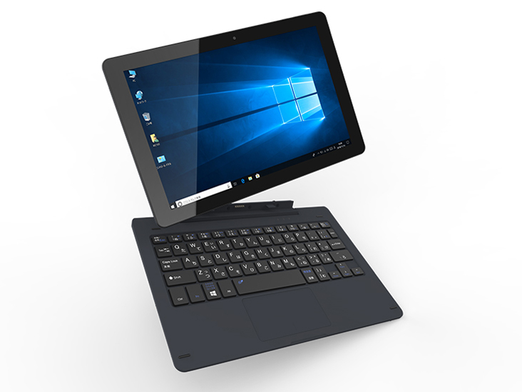 ◆Win10Home64Bit/10.1インチ/WiZ 2in1 FHD WindowsPC【WiZ(KEIAN)】KIC102HD-DN