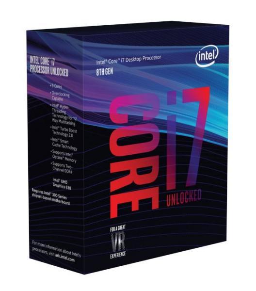 ◆お一人様1個の限定価格となります。【Intel】Core i7-8700K Box 3.7GHz BX80684I78700K