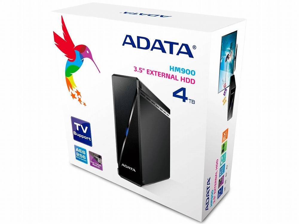 ◆外付USB接続!【ADATA】AHM900-4TU3-CUSBK [黒]