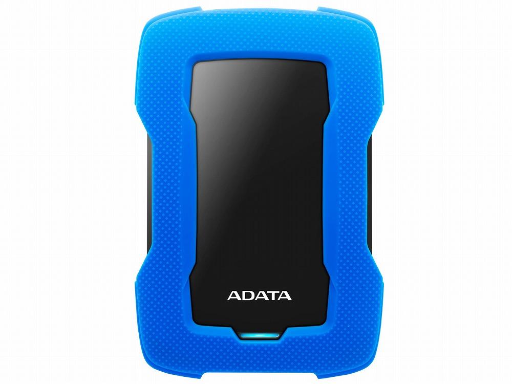 ◆USB接続!ポータブル5TB【ADATA】AHD330-5TU31-CBL