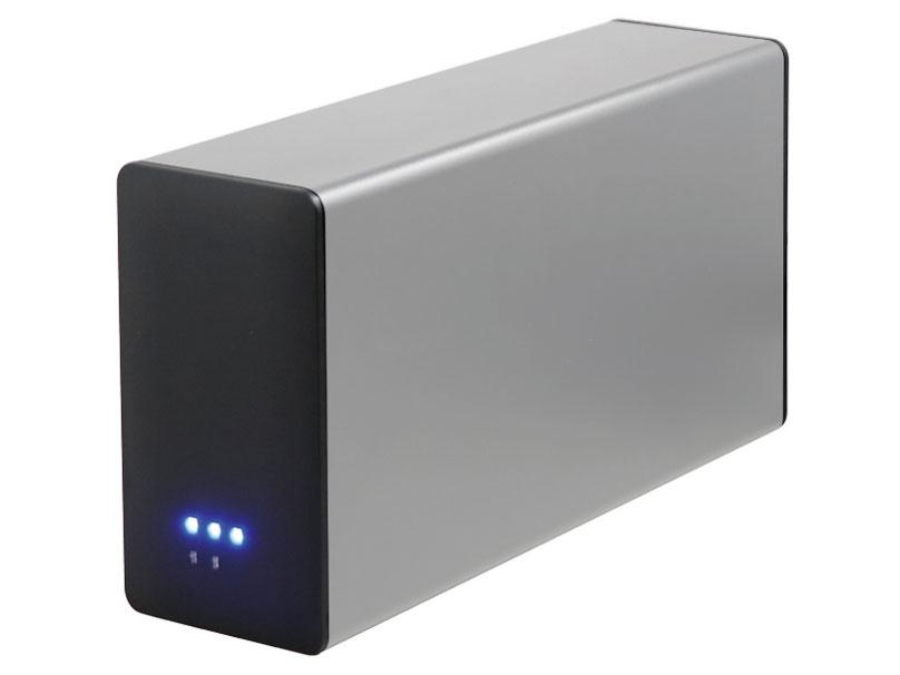 ◆RAID0/1/JBODに対応した3.5HDD2台搭載型USB3.0外付ケース【アオテック】AOK-35RAIDU3-SL
