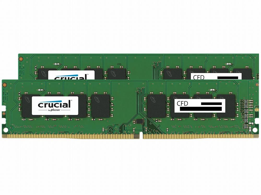 ◆【Crucial (CFD)】W4U2400CM-16G  (16GX2枚)