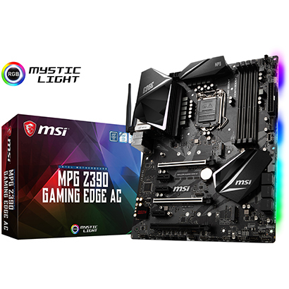 ◆【MSI】MPG Z390 GAMING EDGE AC