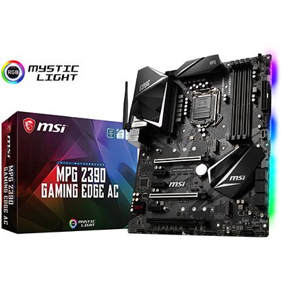 ◆【MSI】MPG Z390 GAMING EDGE AC
