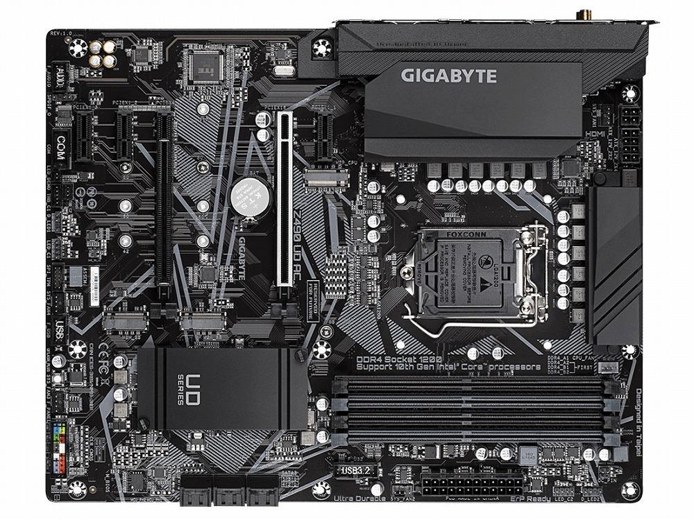ATX Gigabyte Z490 希少 大規模セール AC UD