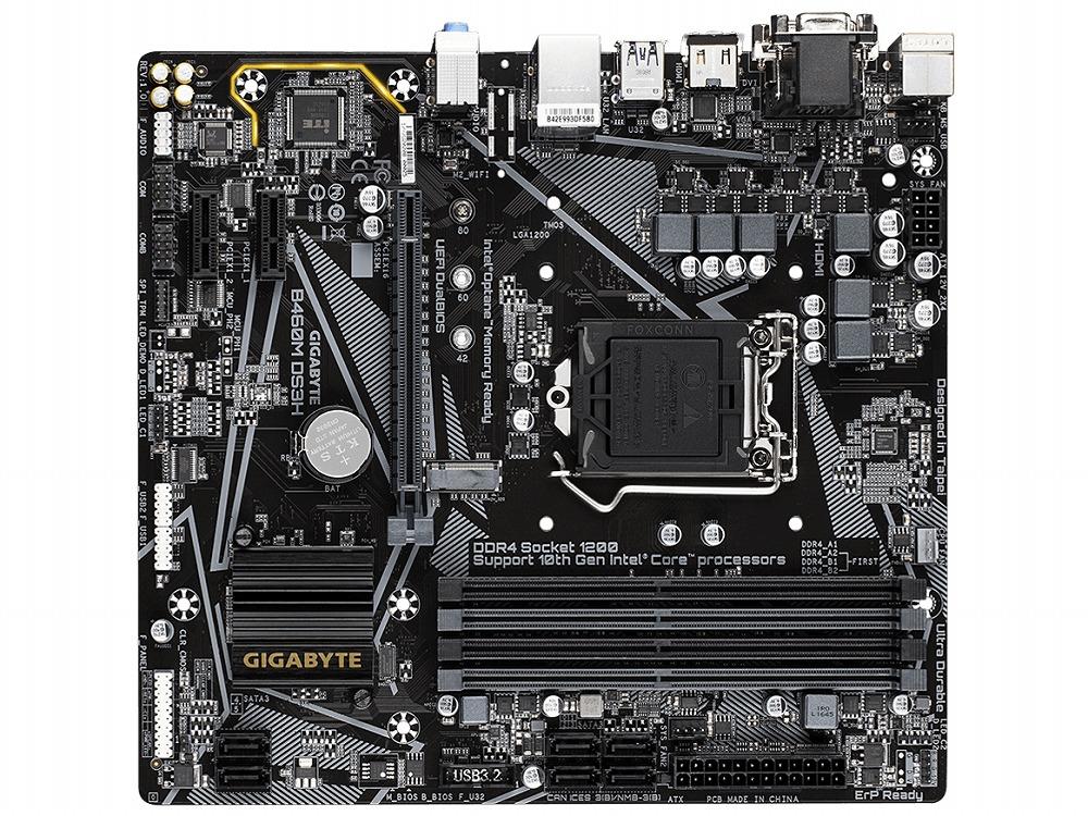 ◆【Gigabyte】B460M DS3H