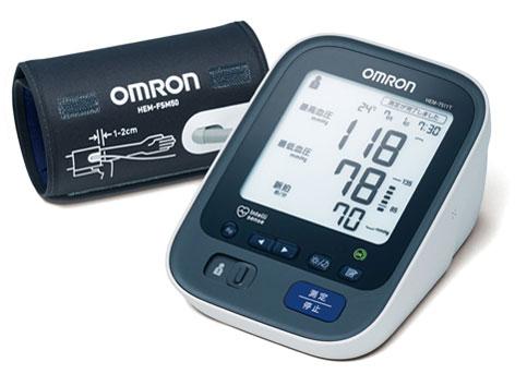 ◆上腕式血圧計!Bluetooth経由で測定データをスマホ管理できる上腕式血圧計【オムロン】HEM-7511T (メモリ機能:2人×90回)