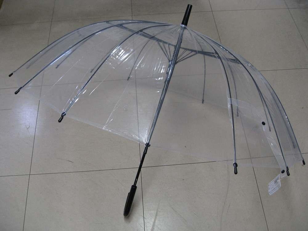 頑丈な親骨の本数:16本 商品 NA-G60J16 クリア スーパーセール 60cmジャンプ傘