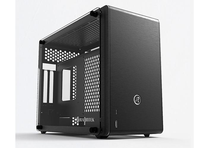 ◆ハイエンド フルサイズ GPUにも対応できる新SFFシャーシゲーミングマシンに最適!【RAIJINTEK】0R20B00098 (OPHION EVO)