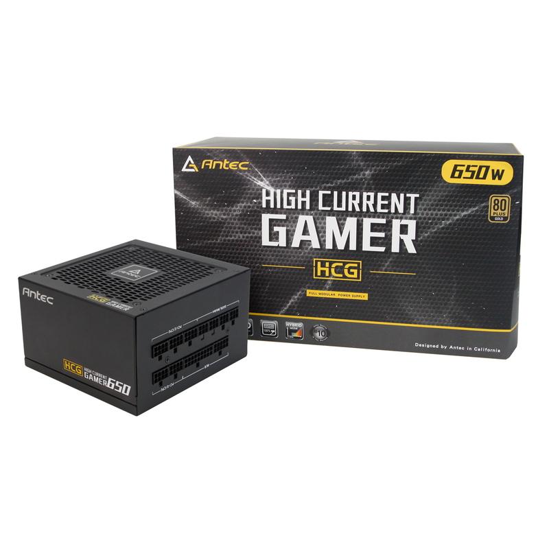 80PLUSGOLD認証取得奥行140mmの高効率小型電源ユニット 全品送料無料 ハイクオリティ 80PLUS GOLD認証取得 奥行140mmの高効率小型電源ユニット GOLD ANTEC HCG650