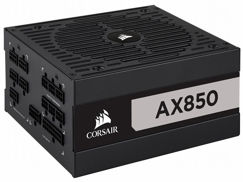 ◆超高効率ATX電源ユニット【CORSAIR】AX850 (CP-9020151-JP)