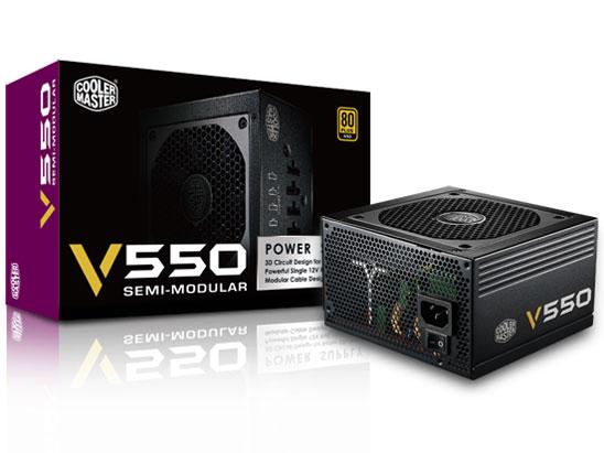 ◇在庫限定特価!【CoolerMaster】V550 Semi-Modular RS550-AMAAG1-JP