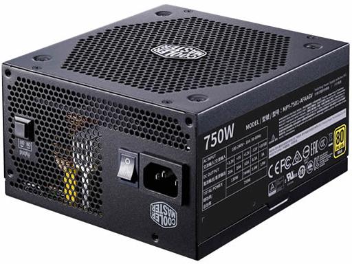 80PLUSGOLDのフルモジュラー電源 80PLUS GOLDのフルモジュラー電源 MPY-7501-AFAAGV-JP 送料0円 メーカー公式ショップ CoolerMaster