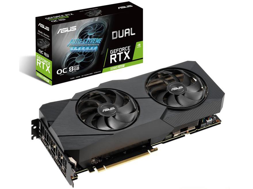 ◆在庫のみ特価!PCI-E【ASUSTeK】DUAL-RTX2080S-O8G-EVO-V2