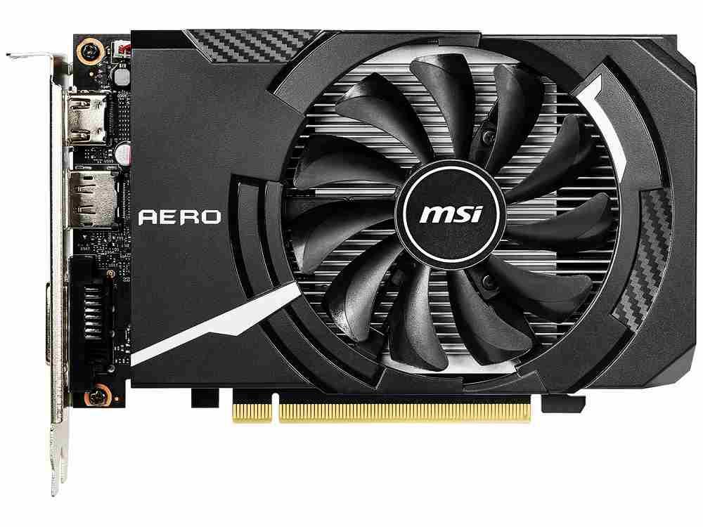 ◆在庫のみ特価!PCI-E【MSI】GeForce GTX 1650 AERO ITX 4G OC