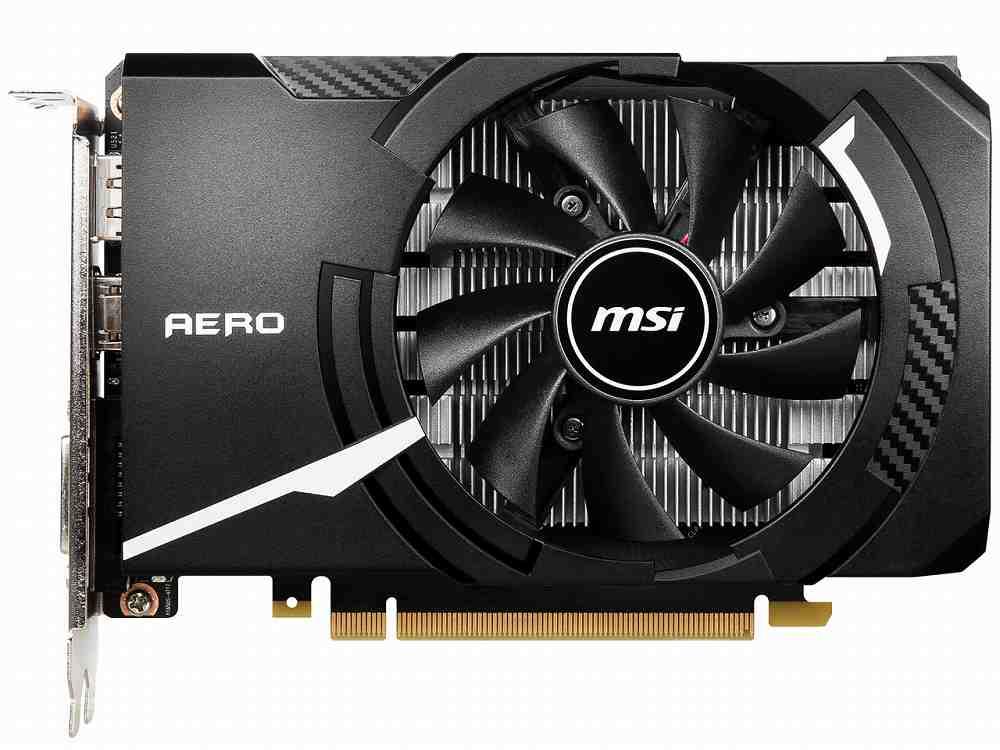 PCI-E MSI GeForce GTX 1650 驚きの価格が実現 希少 D6 OCV1 AERO ITX