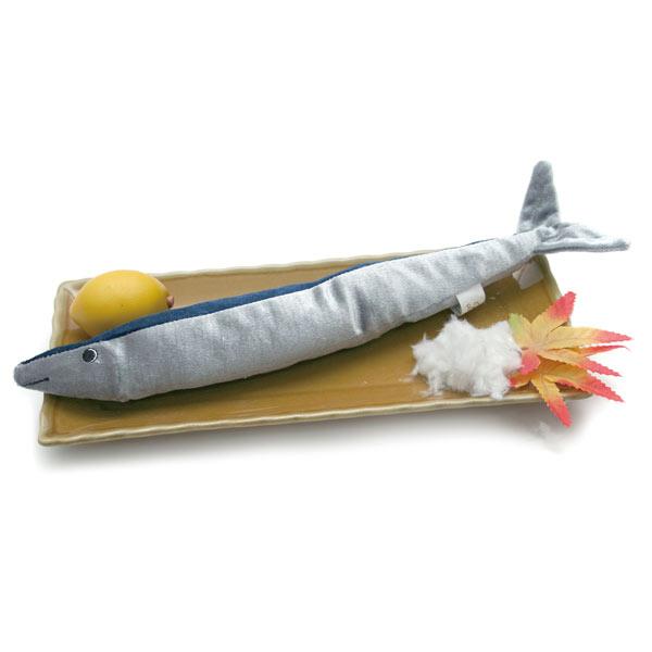 音が出る犬用のおもちゃLOVEPETSbyBESTEVERペットトイサンマ犬用おもちゃ魚ペット用ぬいぐるみ秋刀魚音