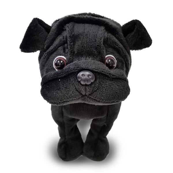 Bestever Rakuten Ichiba Store Premium Puppy Black Pug Plush Dog