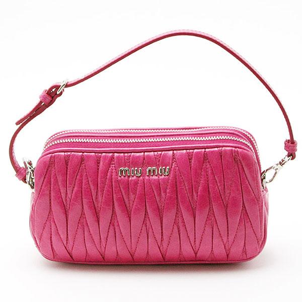 Best Gallery   quot ◇ quot  Miu Miu MIUMIU accessory pouch PEONIA ... 624d79b06