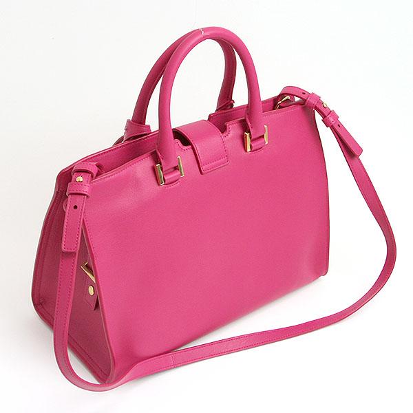 Saint Laurent Paris 2 Handbags Fushia Fuchsia Pink 311210 Bj50j5514 Yves